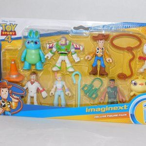 Toy Story 4 Figures Imaginext Deluxe Figure Pack